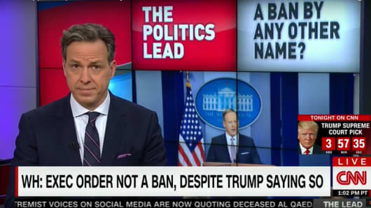 The sass levels in this chyron and raised eyebrow are off the charts.