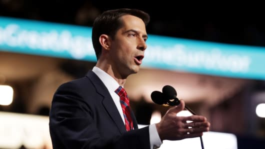 Sen. Tom Cotton (R-AR)