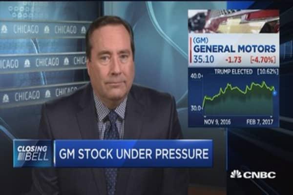 General Motors under pressure despite earnings beat
