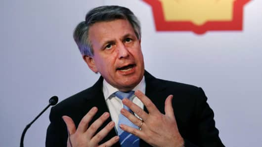 Shell Chief Executive Officer Ben van Beurden