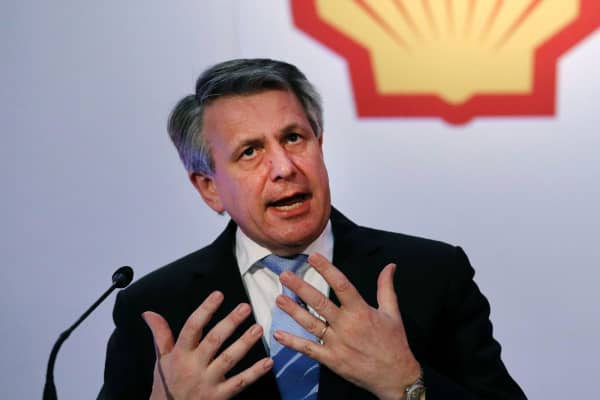 Shell Chief Executive Officer Ben van Beurden