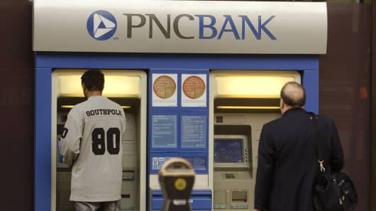 PNC Financial's profit rises 14.1 pct on higher interest rates