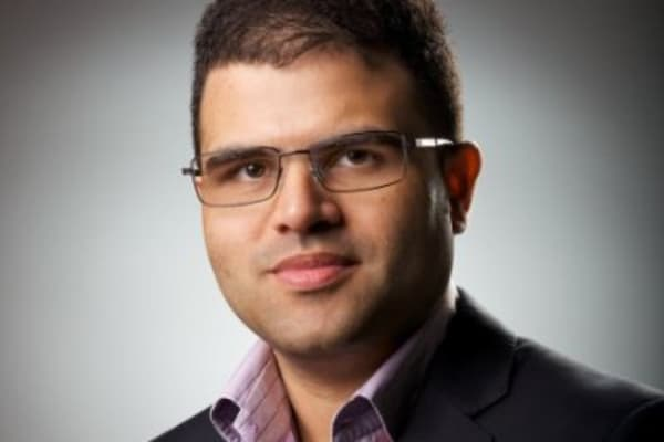 Ruzbeh Bacha, CEO of CityFALCON