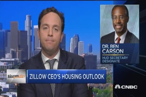 Zillow CEO: We're not forecasting a housing recession
