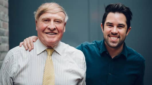 Dick Kramlich (left) and Anthony Schiller, partners at Green Bay Ventures.