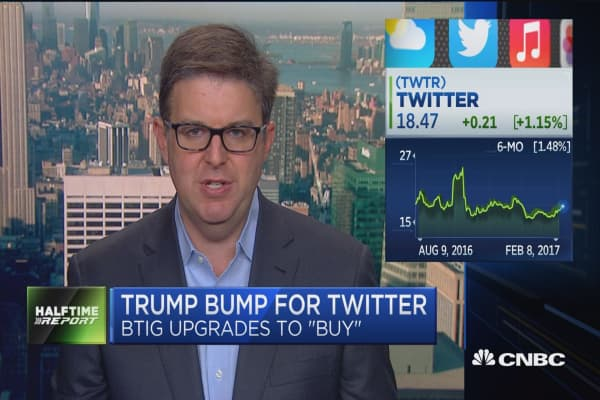 BTIG: Trump giving Twitter a second chance