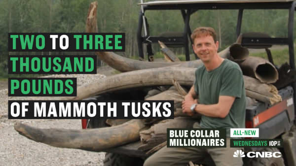 This 'Mammoth Hunter' turned his hobby into millions