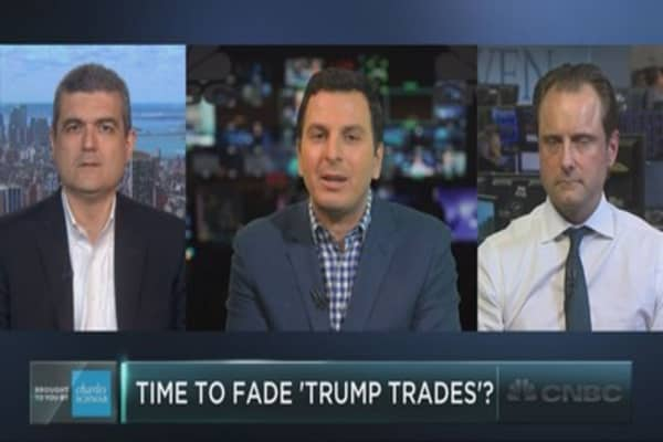 Time for investors to fade 'Trump trades'?