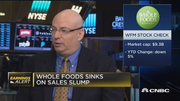 Feinseth on Whole Foods: Selling Kale is a tough business