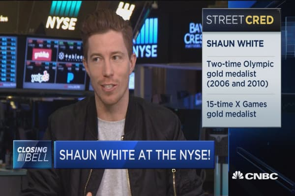 Shaun White gears up for the 2018 Winter Olympics