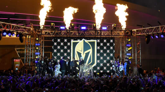 Vegas Golden Knights is announced as the name for the Las Vegas NHL franchise