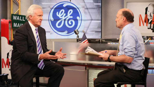 Jeff Immelt CEO of GE featured on Mad Money with Jim Cramer