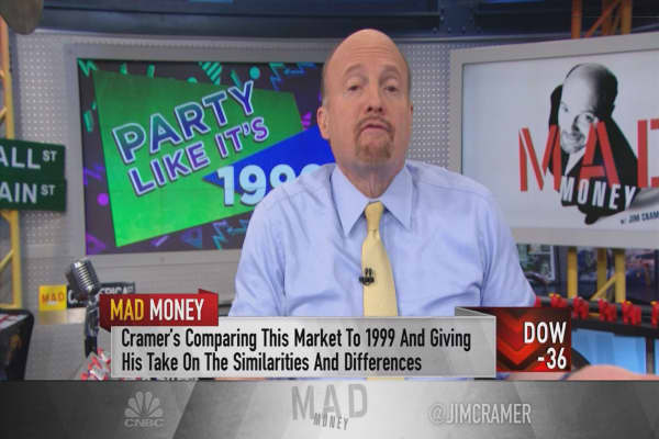Cramer tests the market to determine if stocks are really overvalued