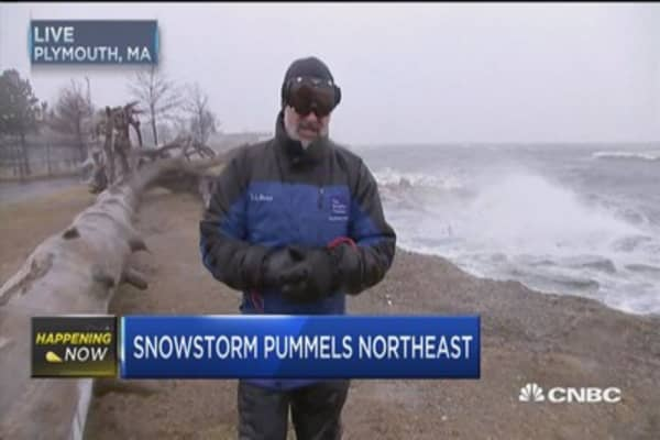Biggest snow totals of season possible in Northeast