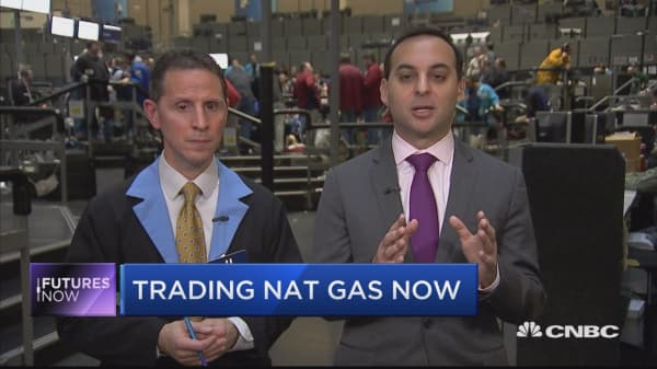 Cold weather to provide relief for nat gas prices?