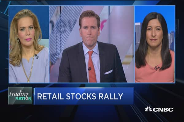 Trading Nation: Retail stocks rally