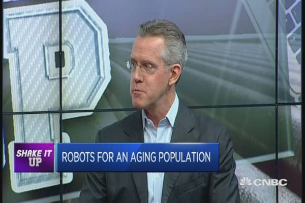 Social robotics and the aging population