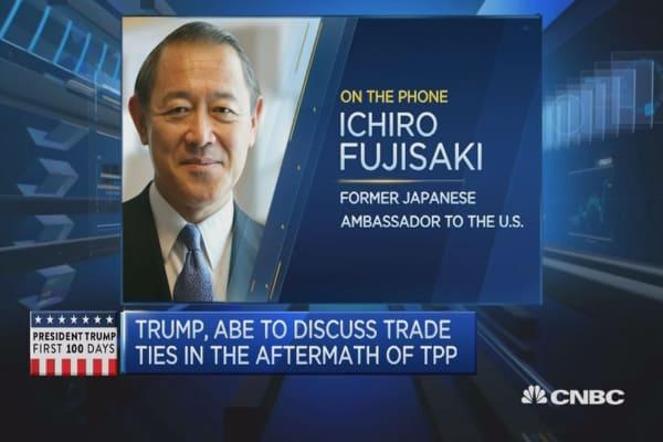 Free trade high on Trump, Abe's agenda: Former ambassador