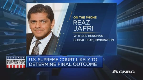 Surprising if SCOTUS hears travel ban case: Expert