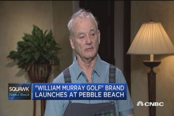 'William Murray Golf' brand launches at Pebble Beach