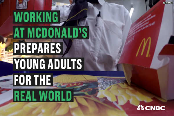 If you dream of being a CEO someday, try working at McDonalds