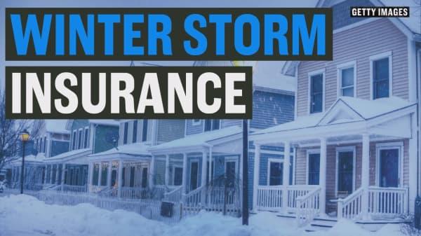 Winter storm insurance