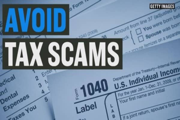 Avoid tax scams