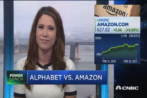 Race to $1,000: Alphabet or Amazon?