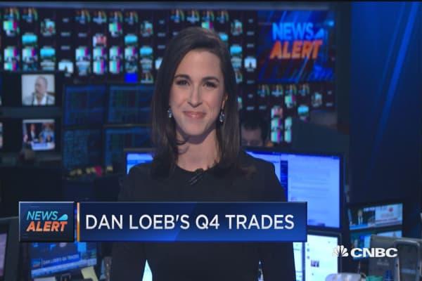 Dan Loeb's Q4 trades