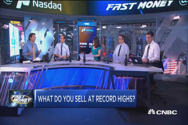 Record highs, take profits?
