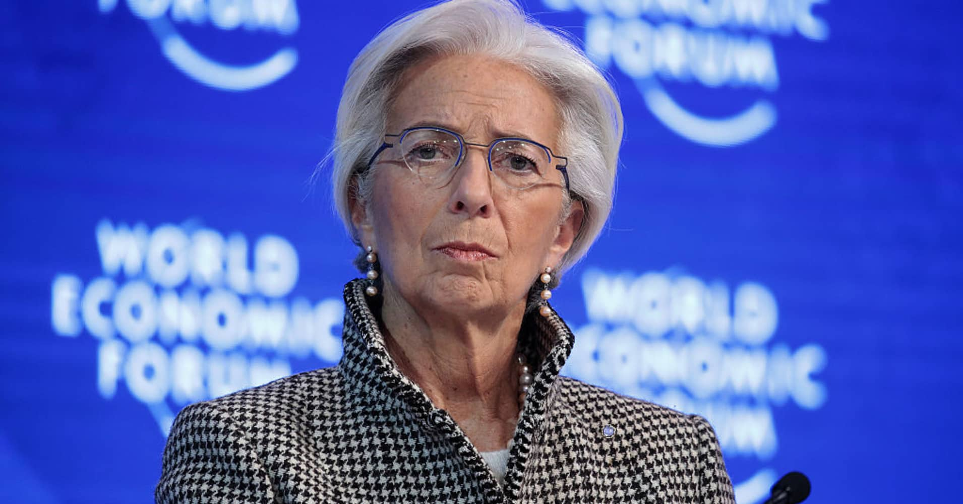 IMF's Lagarde says a China slowdown, if fast, would constitute a real risk