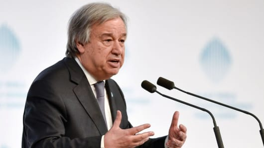 Antonio Guterres, Secretary General of the United Nations