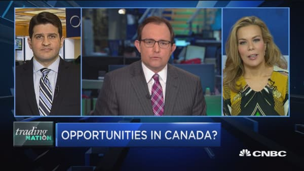 Opportunities north of the border