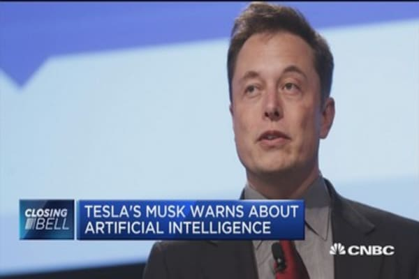 Tesla's Musk warns about artificial intelligence