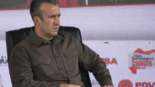 Tareck El Aissami, vice president of Venezuela