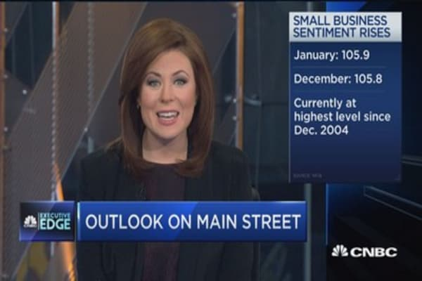 Executive Edge: Small biz optimism