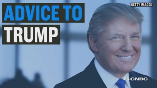 Advice to Trump