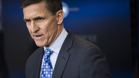 Former National Security Adviser Michael Flynn