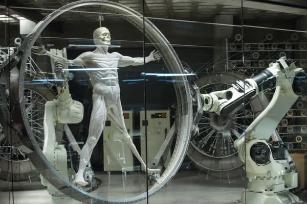 A still from Westworld featured on HBO