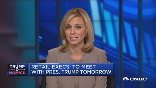 Retail executives to meet with President Trump