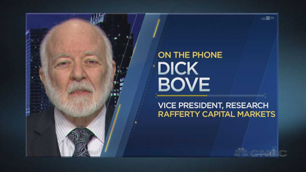 Dick Bove on the event that's 'a big, big plus' for the banks