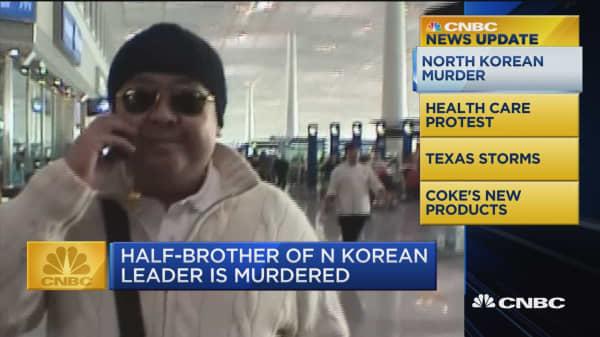 CNBC Update: Half-brother of N. Korean leader is murdered