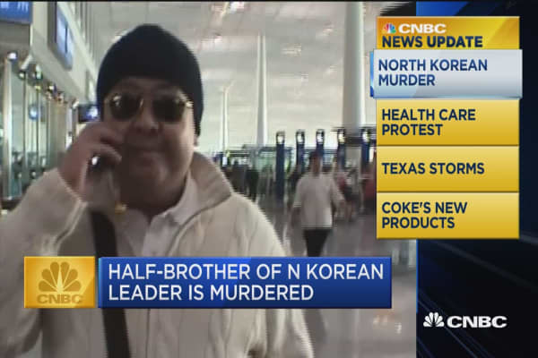 CNBC Update: Half-brother of N. Korean leader is murdered