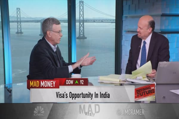Visa's CEO talks about the global push into digital commerce