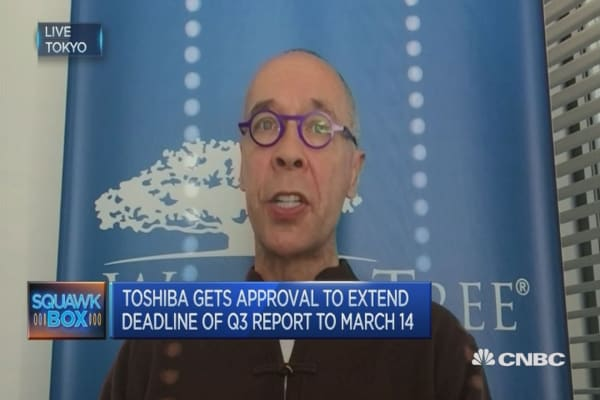 Toshiba will be completely different in 1, 2 years: Expert