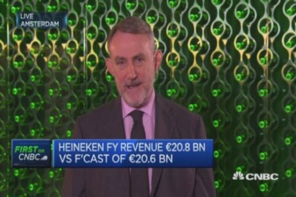 Russia weakness does not make or break out company - How Heineken is strengthing its UK business