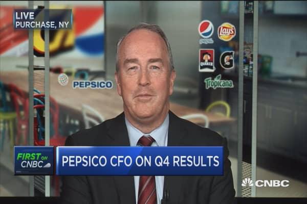 Pepsico CFO: We have terrific momentum