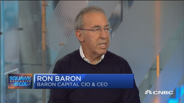 Major UA investor Ron Baron sees big upside in the stock