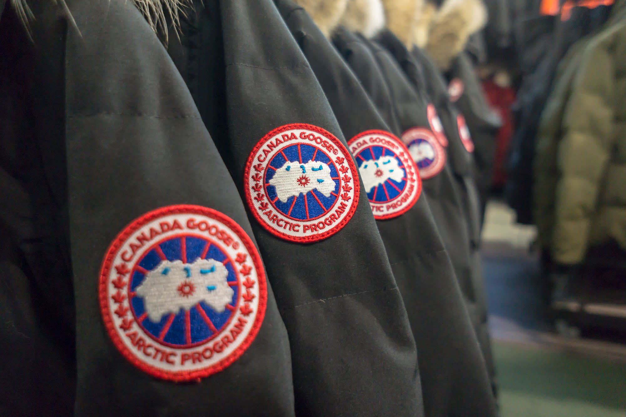 Canada goose closes its first day trading up more than 25 biocorpaavc