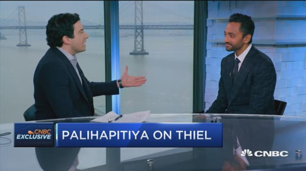 Palihapitiya: Snapchat tracking to look more like Twitter than Facebook